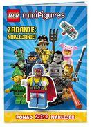 Lego minifigures zadanie naklejanie