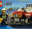 7241 Samochód Strażaka