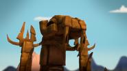 Pożeracz Światów posąg