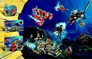 Atlantis scenka z zestawami