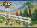 6318 Kwiaty, drzewa i płoty