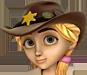 Clo-Cowboy hat blondehair