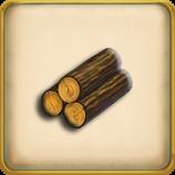 Ordinary logs framed