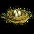 Peafowl nest