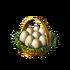 Goose egg basket
