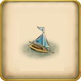 Ship float framed