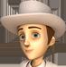 Clo-White hat