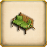 Sofa framed