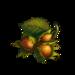 Autumn three hazelnuts