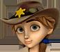 Clo-Cowboy hat brownhair