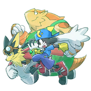 Klonoa Heroes 15th Anniversary Art