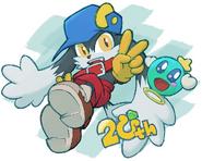 Klonoa DtP 20th Anniversary Art