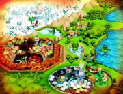 Lunatea Map