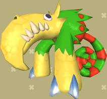 Rongo Lango Model Klonoa Wii