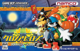 Klonoa Heroes packaging