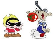 Mandy and numbuh 1