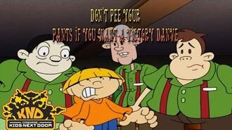 Codename Kids Next Door- Don't Pee your pants if you want a Victory Dance song
