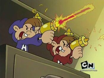 Numbuh 8a and 8b