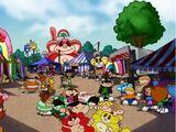 Rainbow Monkey Fair and Share Fair