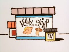 Kenny and the Chimp title card