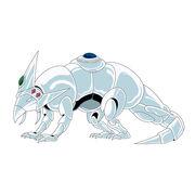 Silver - Lacerta -Lizard-