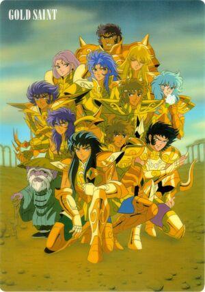 Gold saints group