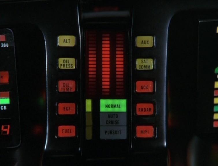 Knight Rider control panel