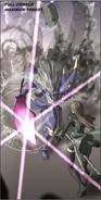 Pray style violet crystal sword