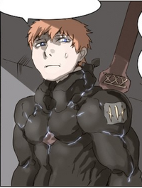 Knight apprentice raven suit