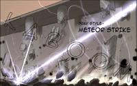 Pray style meteor strike