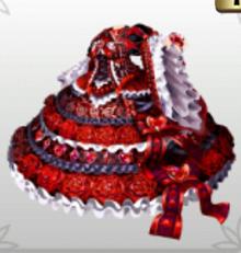 -Red Phantom- Ruby Dress