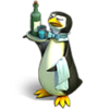 Penguin waiter 1