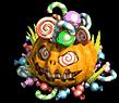 Trash pumpkin
