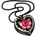 Coll lockets rose quartz