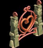 Valentine fence