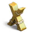 Letter cyrillic x