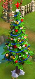 Christmas tree stage4