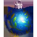 Coll christmas tree blue