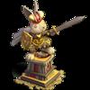 Emperor bugs' statue