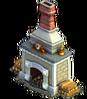 Fireplace blue dwarf's inn