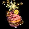 Festive cupcake deco