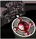 Coll lockets fire opal