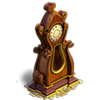Grandfather clock deco