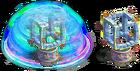 Atlantis' puzzle stages