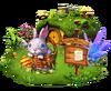 Location follow the bunny