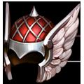 Coll helmet winged