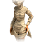 Clothesf ancient mummy costume