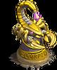 Scorpio statue