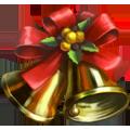 Coll christmas tree bells