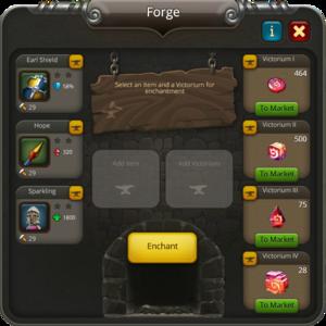 Forge enchanting